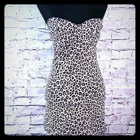 daa6f66277 ️Leopard slimmers shapewear Nancy Ganz 36c M L